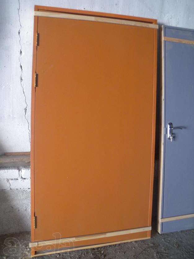 Покраска дверей из двп